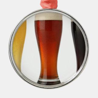 ビールglasses.png シルバーカラー丸型オーナメント