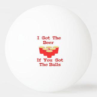 ビールPongのためのビールn球のピンポン球 卓球ボール