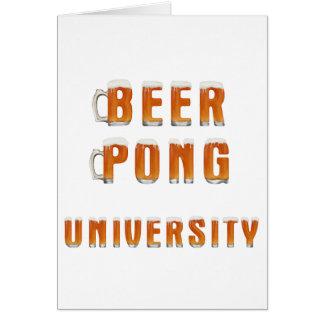 ビールPongのスタイルA カード