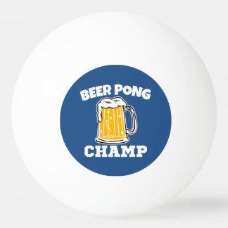 ビールPongのチャンピオンのピンポン球 卓球 ボール