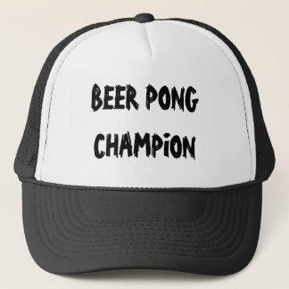 ビールPongのチャンピオン キャップ