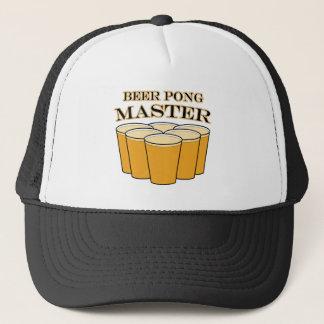 ビールPongのマスター キャップ