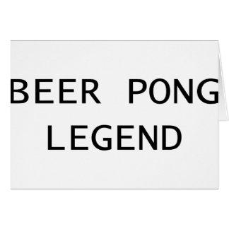 ビールPongの伝説 カード