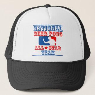 ビールPongの国民チーム キャップ