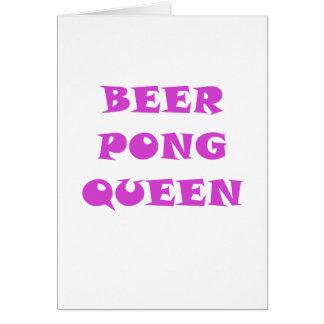 ビールPongの女王 カード