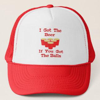 ビールPongの帽子/野球のスタイルの帽子 キャップ