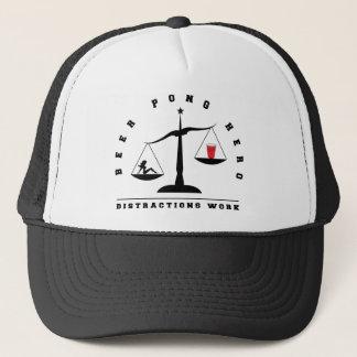 ビールPongの気晴らしの仕事の帽子 キャップ