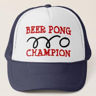 ビールpongのchamionの帽子 キャップ