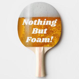 ビールPongは泡立ちます 卓球ラケット