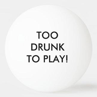 ビールpongを遊ぶには余りに飲まれる ピンポンボール