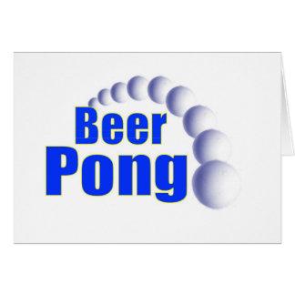 ビールPong カード