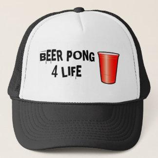 ビールPONG 4生命 キャップ