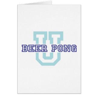 ビールPong U カード