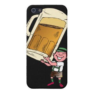 ビールtimeglass iPhone SE/5/5sケース