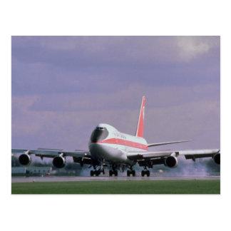 ピアソンの国際空港、Torontの747の土地 ポストカード