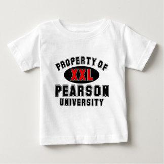 ピアソン大学の特性 ベビーTシャツ