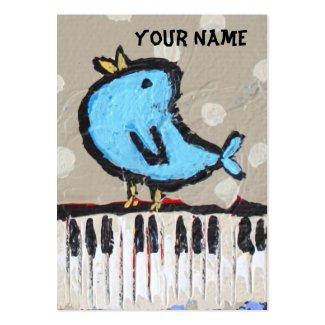 ピアニストの名刺