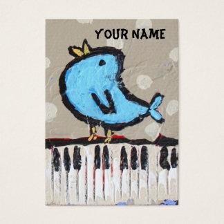 ピアニストの名刺 名刺