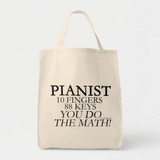 ピアニスト10指88の鍵 トートバッグ