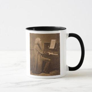 ピアノのフランツ・リスト マグカップ