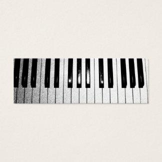 ピアノの教師 スキニー名刺