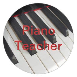 ピアノの教師 プレート