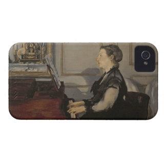 ピアノのManet、1868年Manet |夫人 Case-Mate iPhone 4 ケース