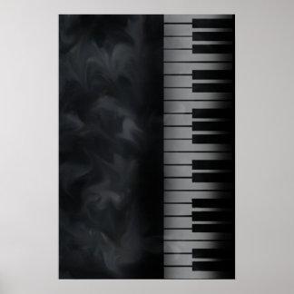 ピアノはキーボードポスターを調整します ポスター