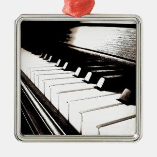 ピアノはマクロを調整します メタルオーナメント