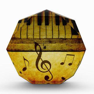 ピアノはヴィンテージを調整します 表彰盾
