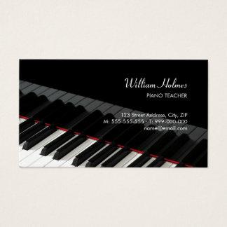 ピアノは音楽業界カードを調整します 名刺