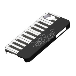 ピアノは音楽穹窖IDのiPhone 5の場合を調整します iPhone SE/5/5s ケース