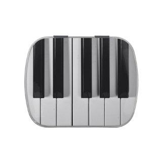 ピアノキーボードのカスタムのキャンディー缶 アメ缶