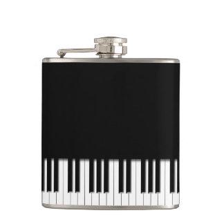 ピアノキーボードのキー フラスク
