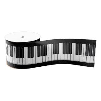 ピアノキーボードのリボン グログランリボン