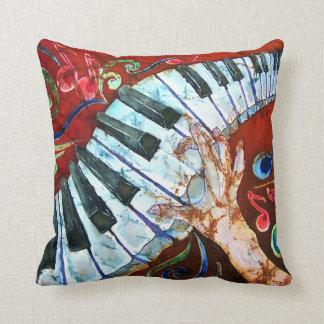 ピアノキーボードの枕 クッション