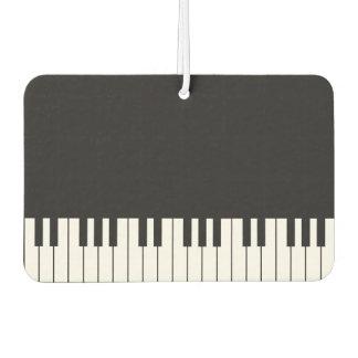 ピアノキーボード車の芳香剤 カーエアーフレッシュナー
