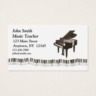 ピアノプロフィールカード 名刺