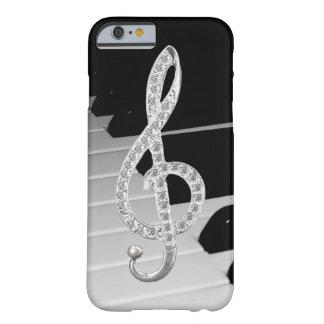 ピアノミュージカルの記号 BARELY THERE iPhone 6 ケース
