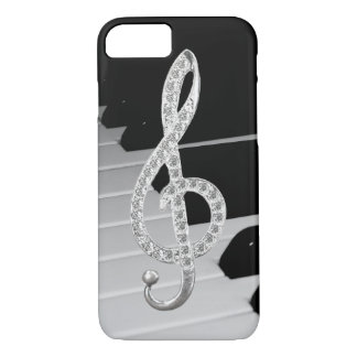 ピアノミュージカルの記号 iPhone 8/7ケース