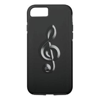 ピアノミュージカルは浮彫りになります iPhone 8/7ケース