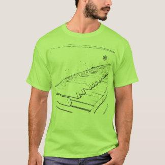 ピアノワイシャツ Tシャツ