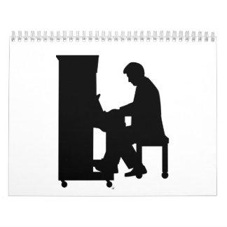 ピアノ奏者 カレンダー