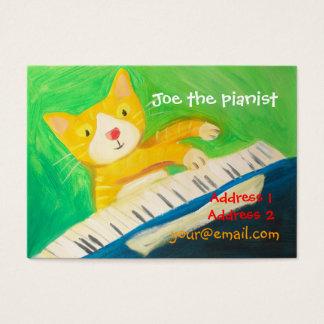 ピアノ奏者、音楽愛好者 名刺