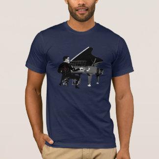 ピアノ奏者 Tシャツ