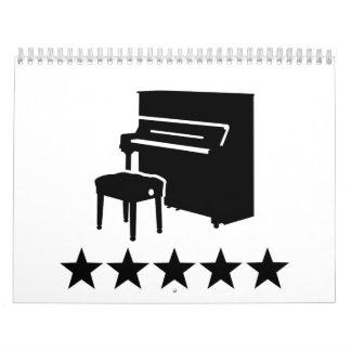 ピアノ星 カレンダー