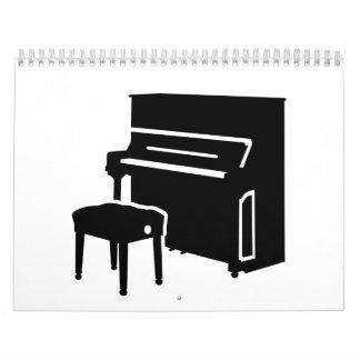 ピアノ楽器 カレンダー