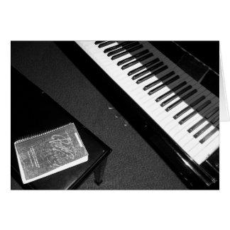 ピアノ賞賛 カード