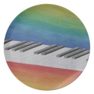 ピアノ鍵 プレート