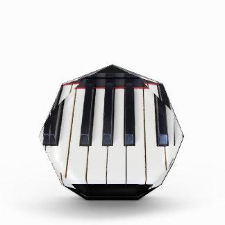 ピアノ鍵 表彰盾